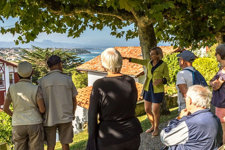 Visites commentées du centre de Bidart