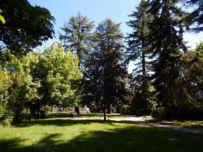 Les parcs et jardins à Pau
