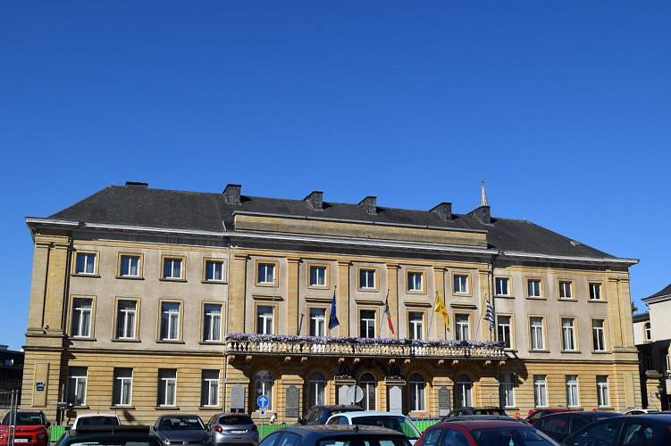 Le Palais du Gouverneur provincial (1845)