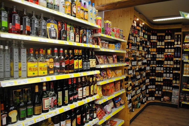 Sherpa supermarket (village center)