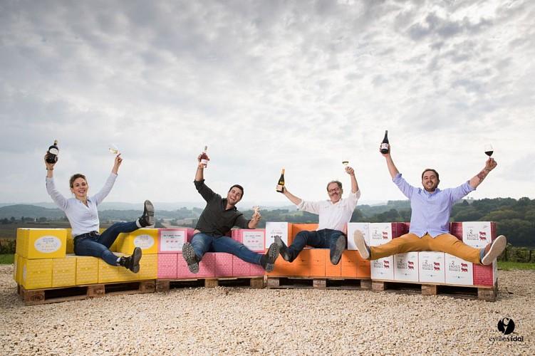 Château d'Aydie - Famille Laplace