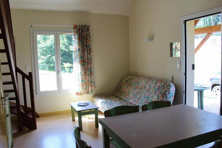 875531. 4-6 Personen 1 Schlafzimmer: + 1 Zwischengeschoss. Klassifizierung beantragt. Beaumont-du-Lac