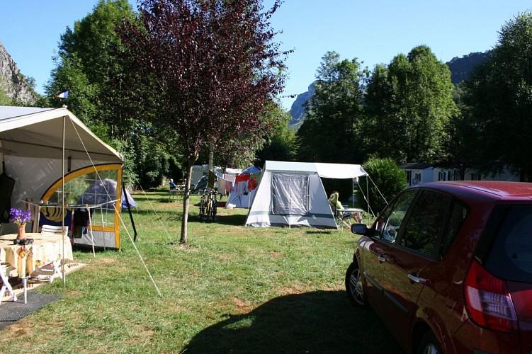 Camping de Geteu