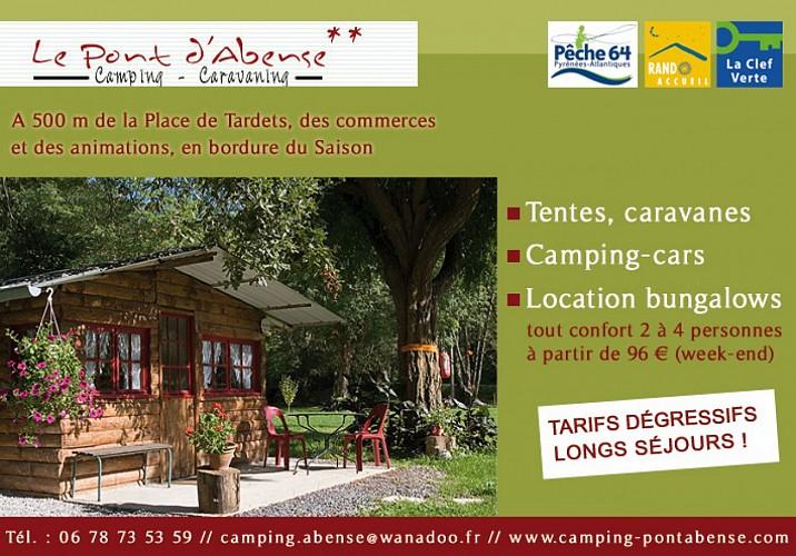 Camping du Pont d'Abense