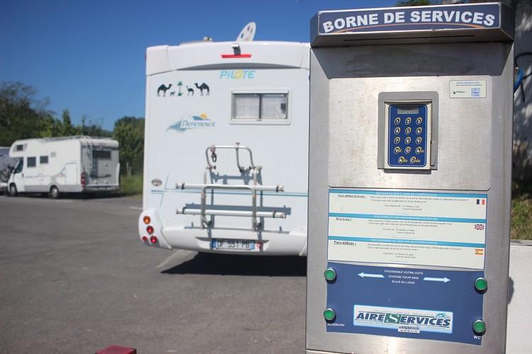 Aire de camping-cars d'Hendaye