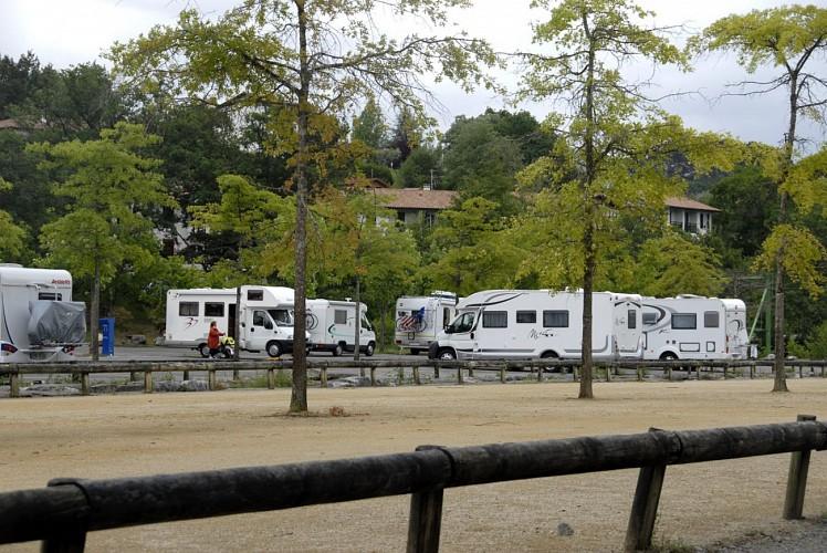 Aire de camping-cars de Saint-Pée-sur-Nivelle