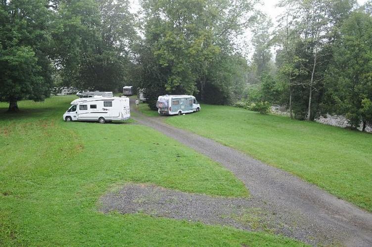 Aire de camping-cars du Gave d'Ossau