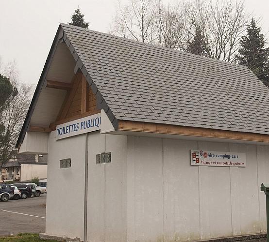 Aire de services et stationnement camping-cars d'Arette