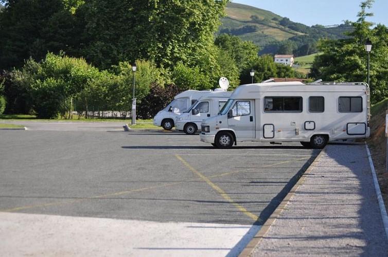 Aire de camping-cars de Sare