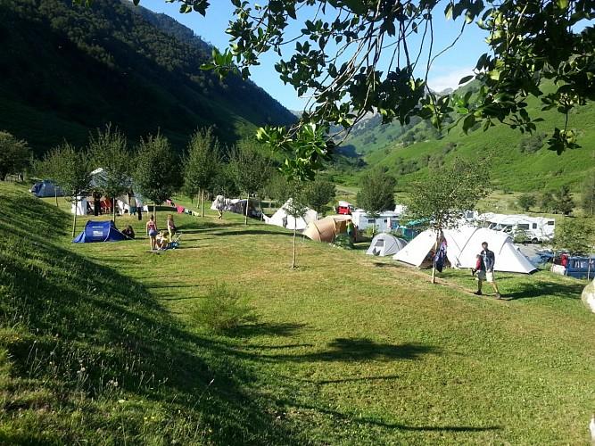 Aire de camping-cars de Lhers