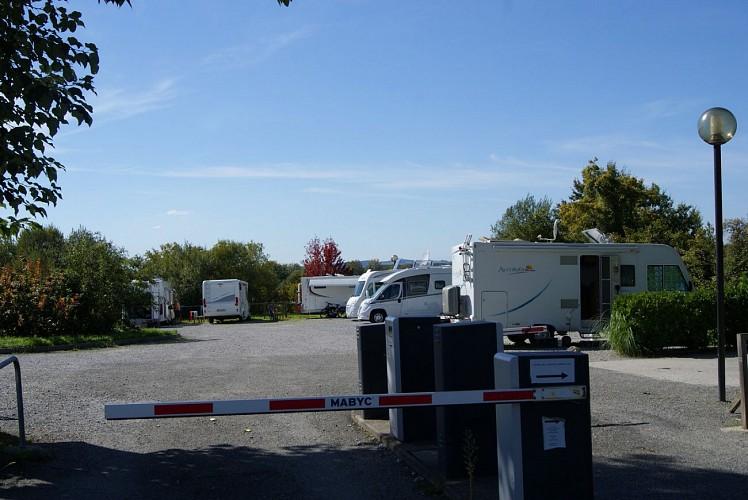 Aire de camping-car de Salies-de-Béarn