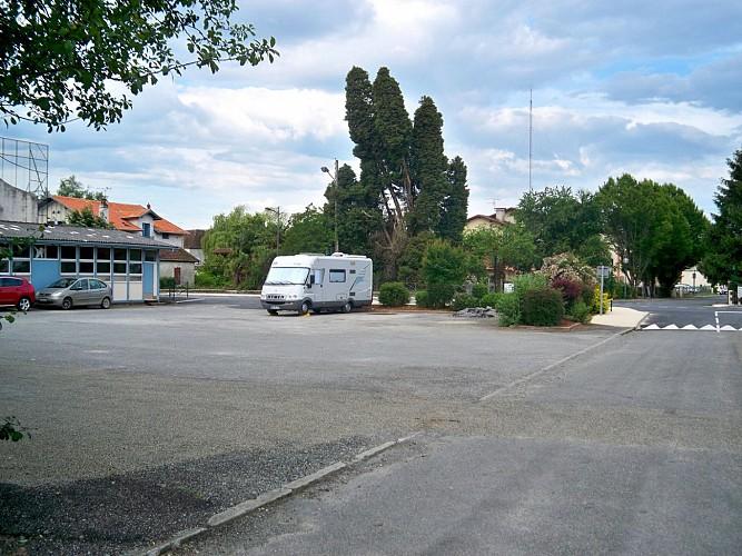 Aire de service de Sauveterre-de-Béarn