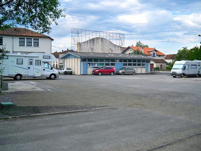 Aire de services de Sauveterre-de-Béarn