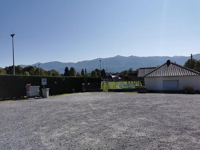 Aire de camping-cars d'Ogeu-Les-Bains