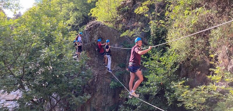 Parcours Via Ferrata du Pont du Diable – Niveau débutant - Ardèche