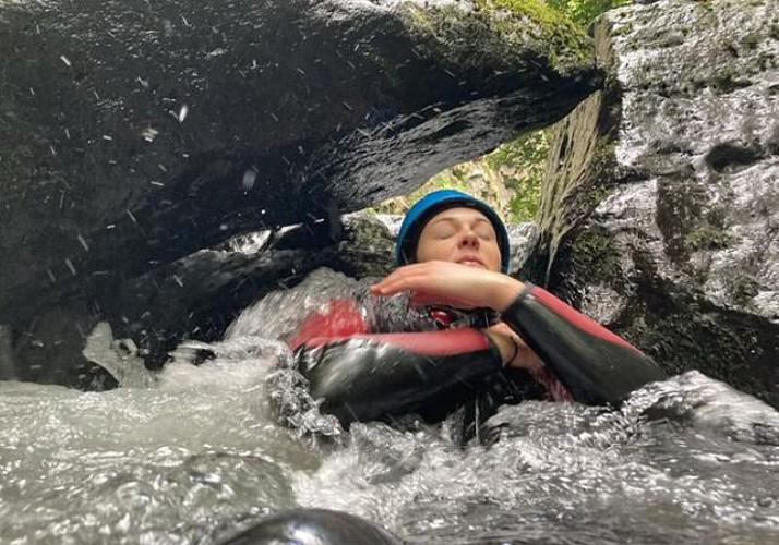 Canyon sensation Bas Chassezac en Ardèche - Demi journée