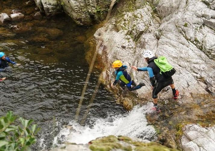 Canyoning familiale en Ardèche - Demi journée