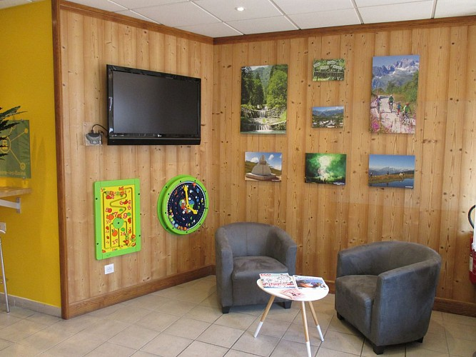 Bureau d'information touristique de La Léchère-les-Bains