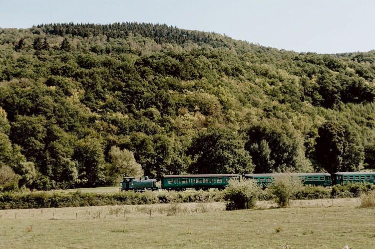 Chemin de fer à vapeur des 3 vallées à Mariembourg