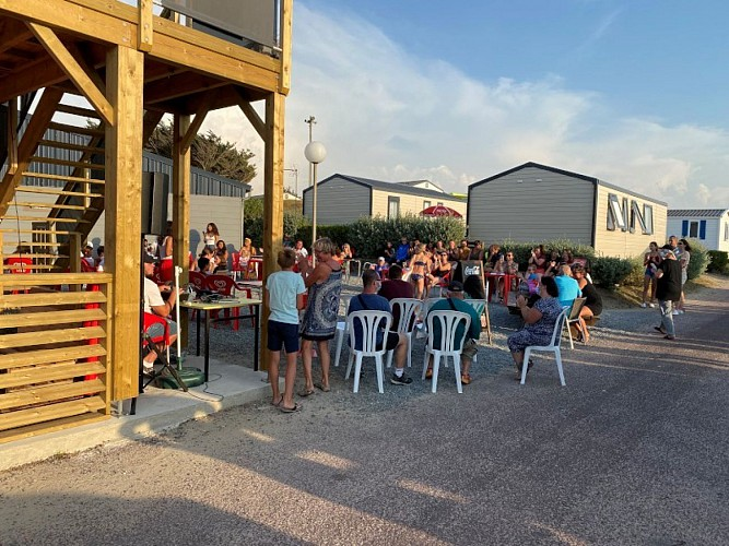 Food-Truck Camping Belle Etoile