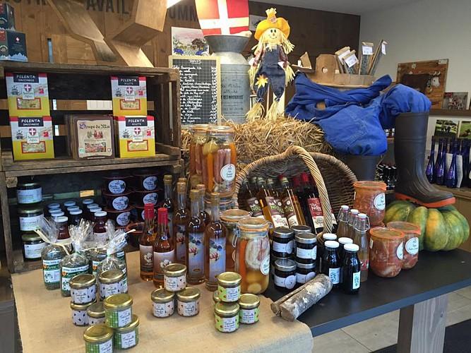 La Fruitière du Mont-Blanc (Farm shop)