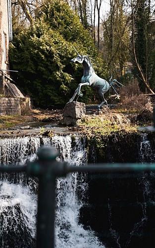 Balade City Glow - Lifi à la découverte des statues à Marche-en-Famenne