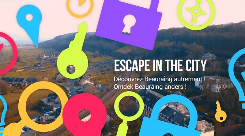 Escape in the city in Beauraing