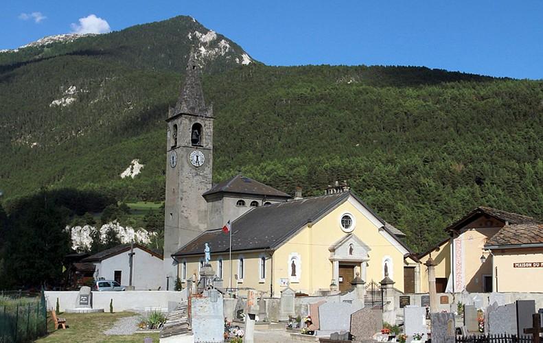 Church Notre-Dame de l'Assomption - Bramans