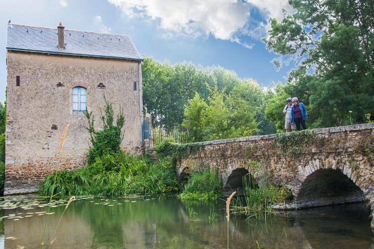 Moulin de Chalou à Durtal