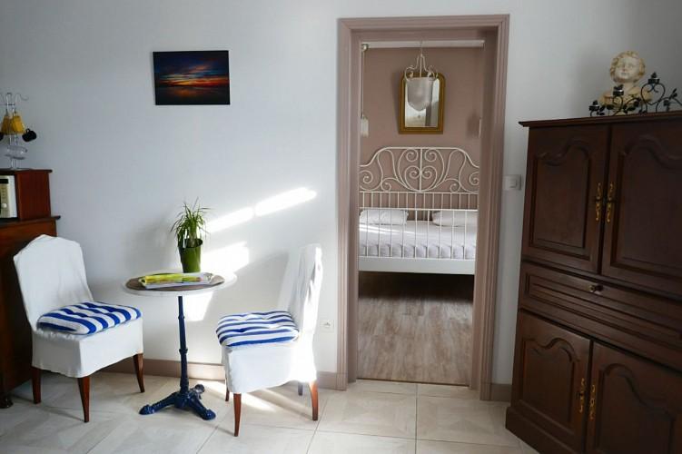 Chambres d'hôtes le clos fleuri - Chambre Lilas - Ile de Noirmoutier