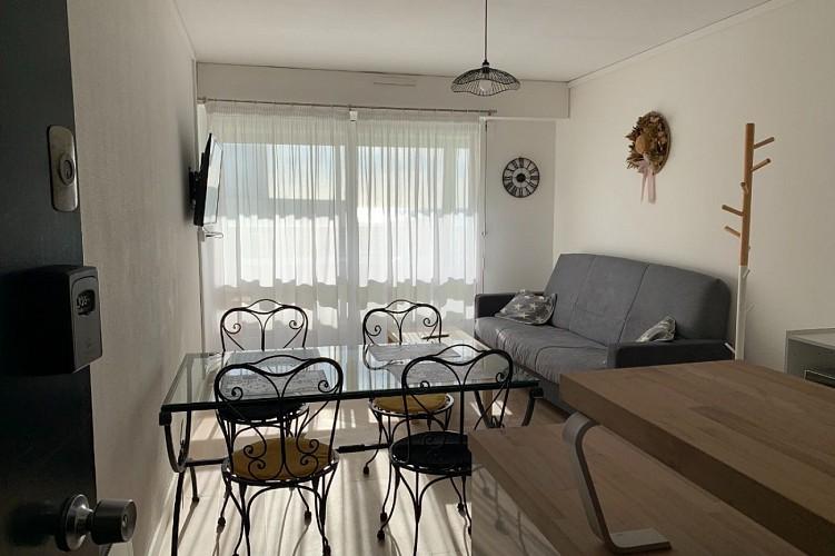 Appartement de vacances en bord de mer à Saint Hilaire de Riez