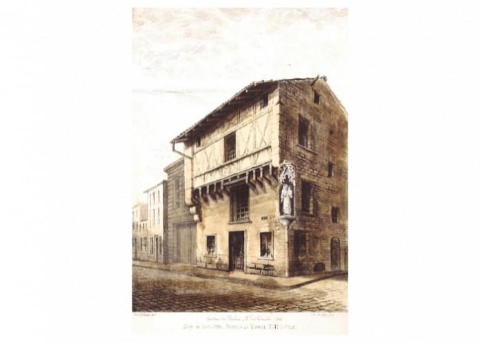 La rue saint-Gelais. François Picard, maître-brasseur à Trois-Rivières - province de Quebec