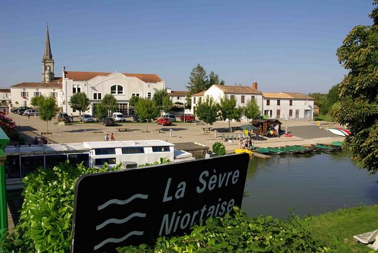 Le village vendéen de Damvix