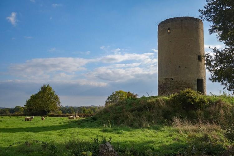 Le moulin de la Brézanchère (propriété privée)