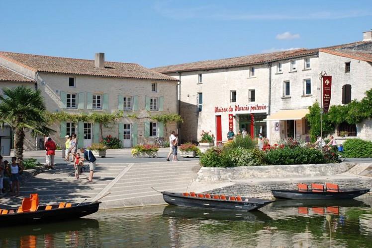 Coulon, capitale de la Venise Verte