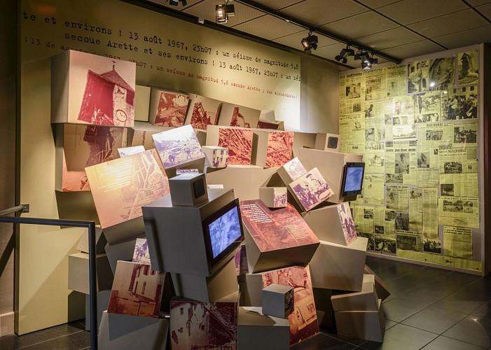 Espace muséographique de la Maison du Barétous - Espace séisme d'Arette