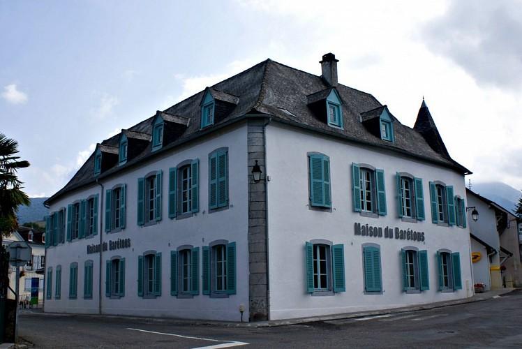 Espace muséographique de la Maison du Barétous - Facade extérieure