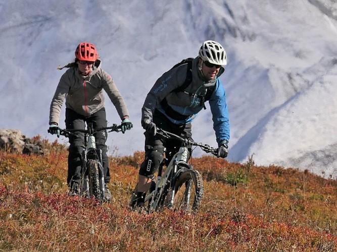Evasion gourmande en VTT électrique : La Myrt'e-Bike
