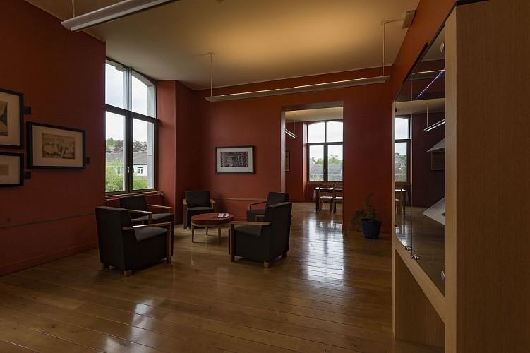 Musée G. Apollinaire - Stavelot - Salle