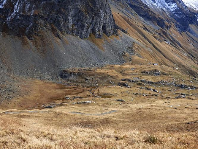 Col de la Chail - Refuge du Mont Pourri. Musée Regaud. (Boucle)