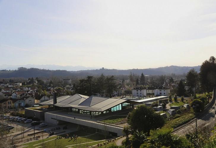 Stade Nautique - Pau - vue depuis avenue Nitot