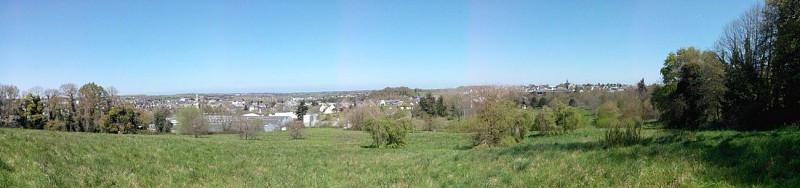 Panorama of the Hillock of Brandefert