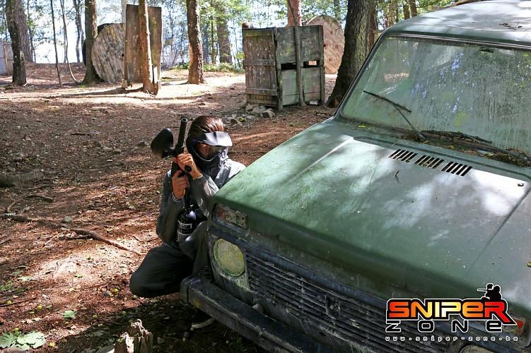 Paintball Sniper Zone - Malmedy - paintball