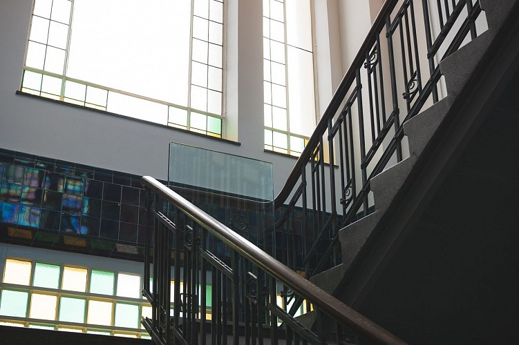 Musée Vieille Montagne - Kelmis - cage d escalier