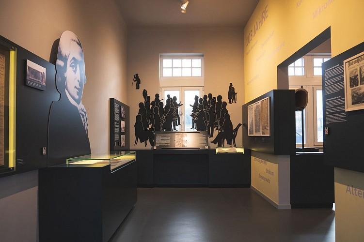 Musée Vieille Montagne - Kelmis - vue d'ensemble de la salle d'expo