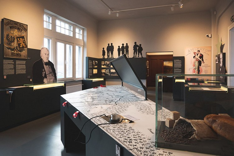 Musée Vieille Montagne - Kelmis - Musée intérieur
