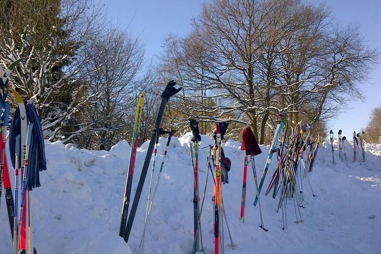 Adventure valley Wirtzfeld - Bullange - Sticks