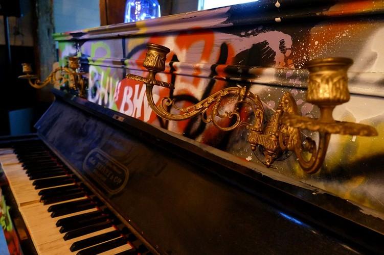 Le Marais - Déco piano