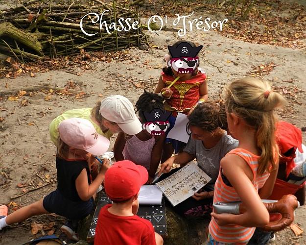 Chasse O' Trésor Enfant - Les effets du capitaine