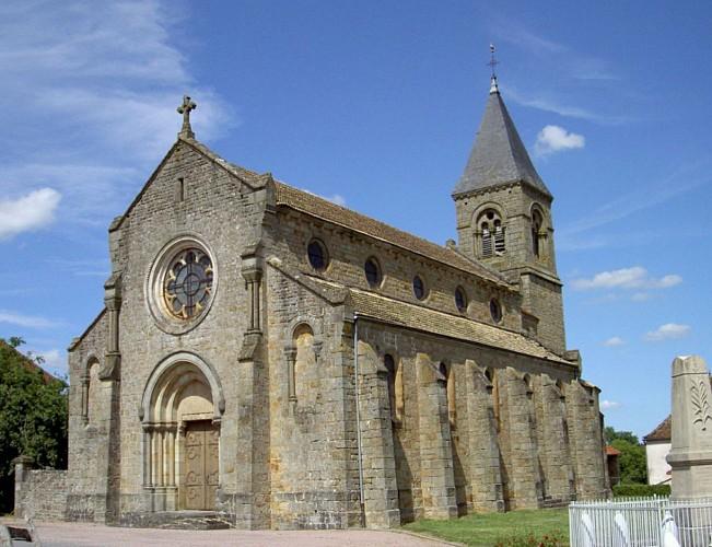 Saint-Martin-de-Salencey : église Saint-Martin